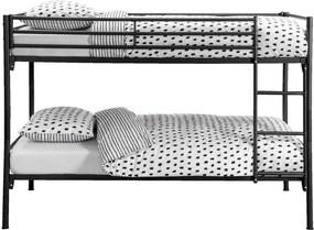 Stapelbed Bram - antraciet - 90x200 cm - Leen Bakker