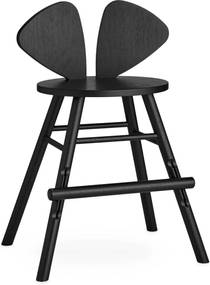 Nofred Mouse Tall Kinderstoel Black