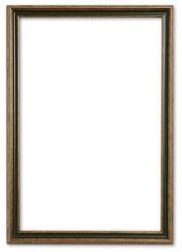 Klassieke Lijst 70x90 cm Goud Groen - Abby