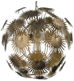 BePureHome Atom Hanglamp Messing Palmbladeren