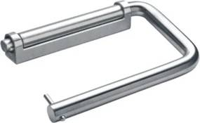 D Line Closetrolhouder H9.9xL14.6cm RVS 14.7056.02.243