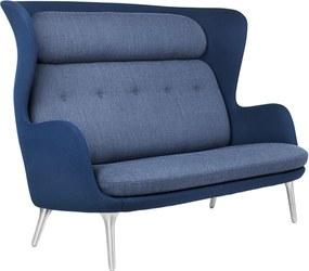 Fritz Hansen Ro JH110 bank 2-zits blauw
