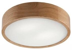 Plafondlamp OAK 2xE27/60W/230V eiken ø37 cm