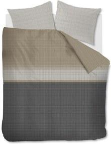 Beddinghouse | Dekbedovertrekset Bardot tweepersoons: breedte 200 cm x lengte 200/220 cm + antraciet dekbedovertrekken katoen | NADUVI outlet
