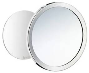 Smedbo Outline scheerspiegel spiegel 5X zelfklevend 15,2cm chroom FK442