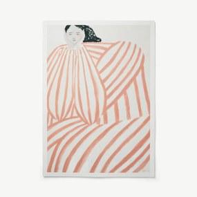 Still Waiting door Sofia Lind, print, 100 x 70 cm