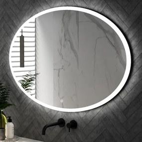 Saniclass Horizon Spiegel ovaal 120x80cm inclusief LED verlichting met touchscreen schakelaar SP-HOR120