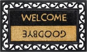 Deurmat Welcome Goodbye