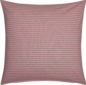 Fresh & Co Sierkussenhoes Fine Stripe Horizontal - Zacht Roze