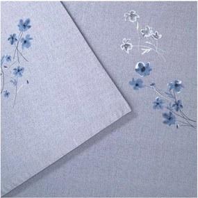 BOSS Linen Flowers laken van katoensatijn 300TC