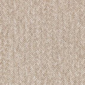 Rivièra Maison - RM Wallpaper Plantations Rattan sunkissed - Kleur: beige