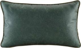 Sierkussen Logan - groen - 30x50 cm - Leen Bakker