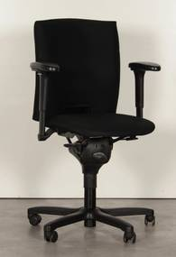 Bureaustoel 50, zwart, 4D armleggers