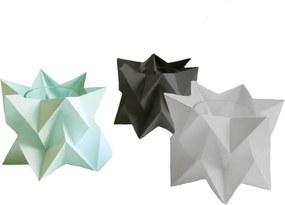 Orikomi Orikomi Tealights Theelichtjes   Set van 3- Kaarshouder - Origami - Papier - Vrolijk - Pastel - Kleurrijk - Set van 3