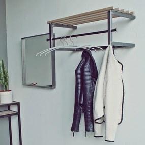 Spinder Design Marco Kapstok Met Roede En Hoedenplank Blacksmith