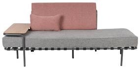 Zuiver Star Pink/Grey Retro Design Daybed - Roze
