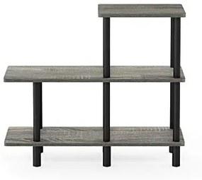Toolless Planken, Hout, Frans Eiken Grijs/Zwart, one size