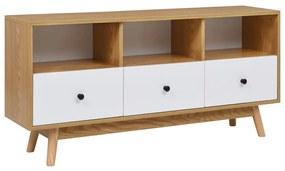 Medina Tv-meubel 120x30x58 cm MDF wit