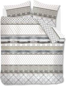 Beddinghouse Fishing Net Blue Grey Dekbedovertrek