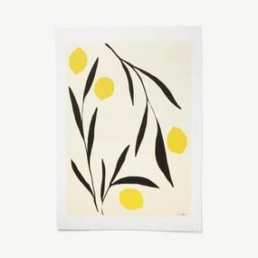 Lemon door Anna Moerner, print, 50 x 70 cm