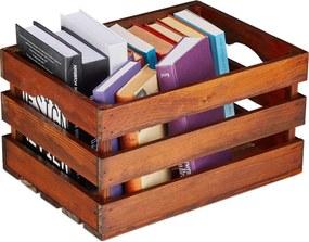 Fruitkist hout- houten kist - veilingkist - opbergkist hout - transport krat Groot