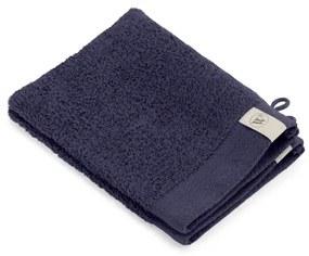 Walra Soft Cotton Washand set van 2 16x21cm 550 g/m2 Navy 1218241