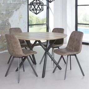 Design Eettafel Rond - 120 X 120cm.