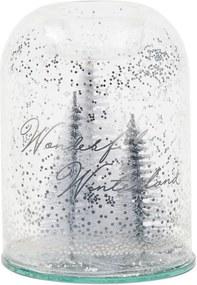 Rivièra Maison - Pretty Christmas Votive silver - Kleur: transparant