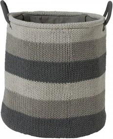 Sealskin wasmand Knitted 36x38x36 grijs 361972012