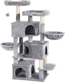 Nancy's Kattenboom met 3 kattengrotten - 164 cm - Kattenhuis - Krabpaal - Kattenboom - Katten Krabpalen