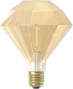 Calex LED diamantlamp 240V 4W E27 - goud - Leen Bakker