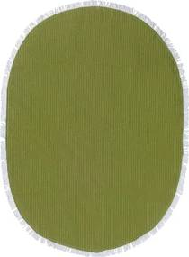 Tafelkleed Limegroen, Ovaal