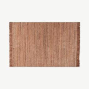 Celsi wollen vloerkleed, groot, 160 x 230 cm, plamuurroze