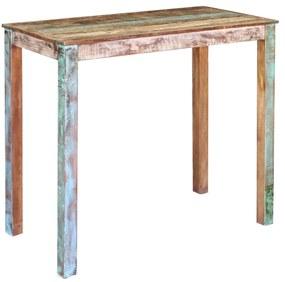Bartafel 115x60x107 cm massief gerecycled hout