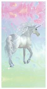 Unicorn strandlaken (75x150)