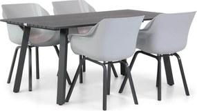 Hartman Sophie element/Villagio 170 cm dining tuinset 5-delig