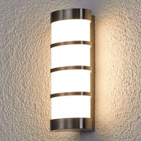 LED roestvrij stalen buitenwandlamp Leroy
