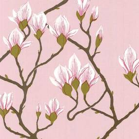 Cole & Son Magnolia Behang Pink