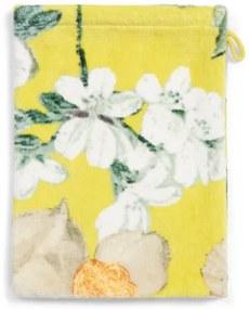 Home badgoed Rosalee yellow - Washand 16x22 cm