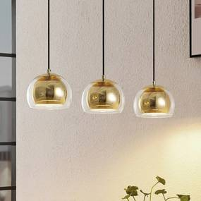 Daymien hanglamp, 3-lamps, messing - lampen-24
