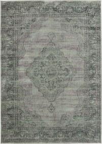 Safavieh   Vintage vloerkleed Olivia 100 x 140 cm lichtblauw vloerkleden viscose, katoen, polyester vloerkleden & woontextiel   NADUVI outlet