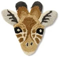 Doing Goods Gimpy the Giraf Head voetenkleed 38 x 38 cm