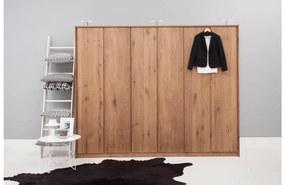 Goossens Excellent Kledingkast Aberson, 270 cm breed, 222 cm hoog, 6 hout draaideuren
