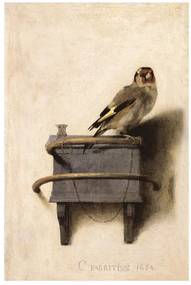 IXXI The Goldfinch wanddecoratie 120 x 80 cm
