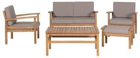 MANILA - Tuinmeubelset - Lichte houtkleur - FSC® Gecertificeerd Acacia Hout