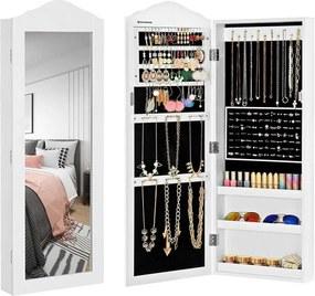 Nancy's Granada Hills Sieradenkast Met Spiegel - Magnetische Sluiting - Juwelendoos - Sieraden Opberger