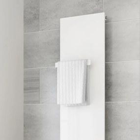 Handdoek Rail Voor Radiator Wit - 31 cm