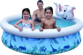 Mascot Online Opblaasbaar Zwembad - Olifant