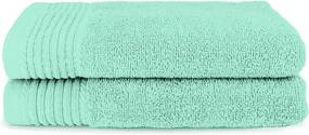 The One Towelling 2-PACK: Handdoek Deluxe - 60 x 110 cm - Mint