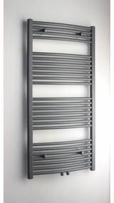Altare G handdoekradiator 120 x 60 cm (H X L) grijs metallic